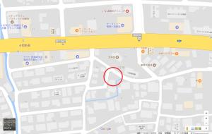 小田部 所在地図