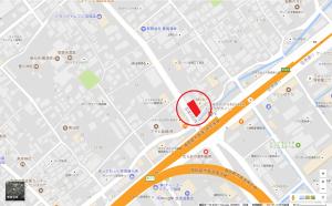 吉塚三丁目地図